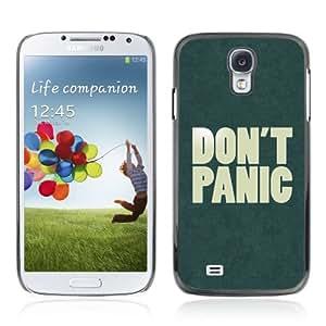 YOYOSHOP [Funny Don't Panic Sign] Samsung Galaxy S4 Case