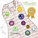 Woombie-Convertible-Baby-Swaddle-Blanket-Converts-to-Wearable-Blanket-for-Babies-Up-to-3-Months-Stardust-Elephant-5-13-lbs