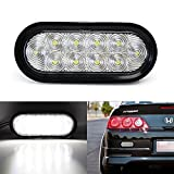 iJDMTOY JDM Style Clear Lens LED Backup Reverse Light For Acura Honda Nissan Mazda Subaru Toyota etc, Powered by (10) Super Bright LED Lights