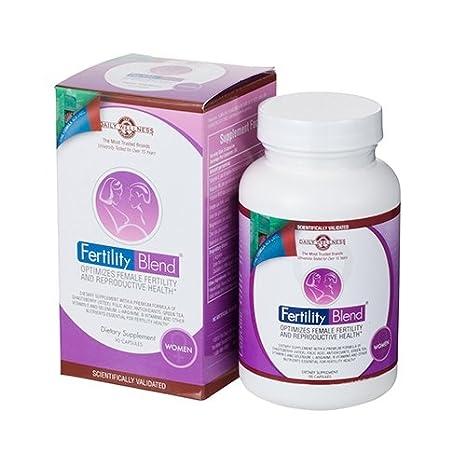 Fertility Blend Mujer 90 Cápsulas - Suplemento Natural Para Ayudar A Mejorar La Fertilidad Femenina -
