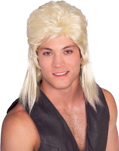 [Rubie's Costume Humor Blond Mullet Shoulder Length Wig, Blonde, One Size] (Mullet Costumes Wig)