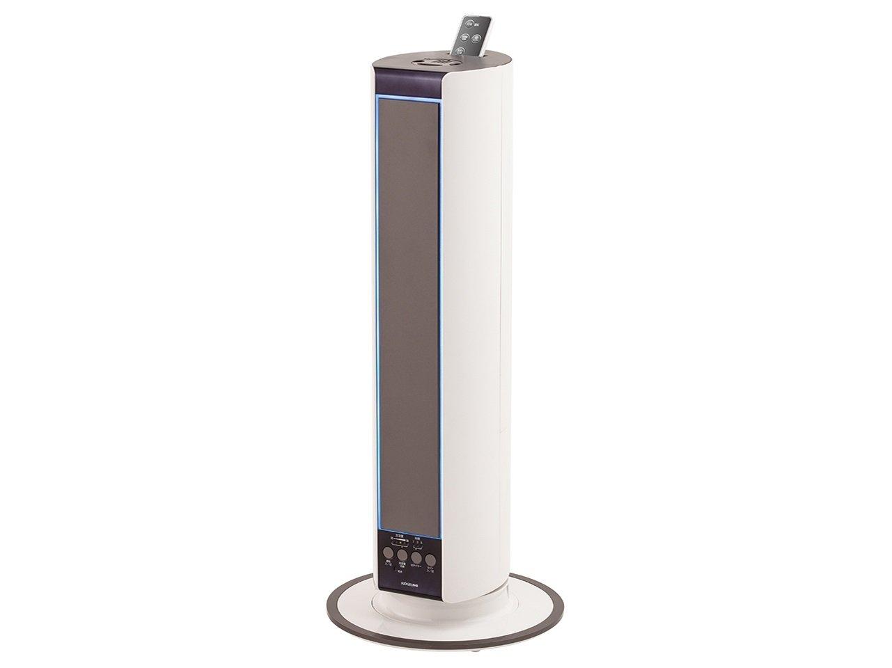 日本製 コイズミ KHM-4061/W 超音波式加湿器 B01LW58Z76 タワー型 アロマ対応 LEDイルミネーション付 ホワイト ホワイト KHM-4061/W B01LW58Z76, 大玉村:9f582f44 --- irlandskayaliteratura.org