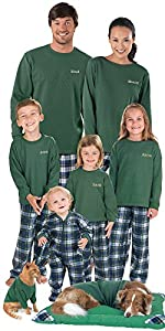 Flannel Tartan Plaid Matching Pajamas for the Whole Family