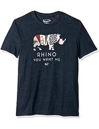 Original Penguin Men's Short Sleeve Rhino You Want Me Tee