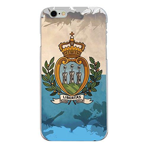 "Disagu Design Case Coque pour Apple iPhone 6 Housse etui coque pochette ""San Marino"""