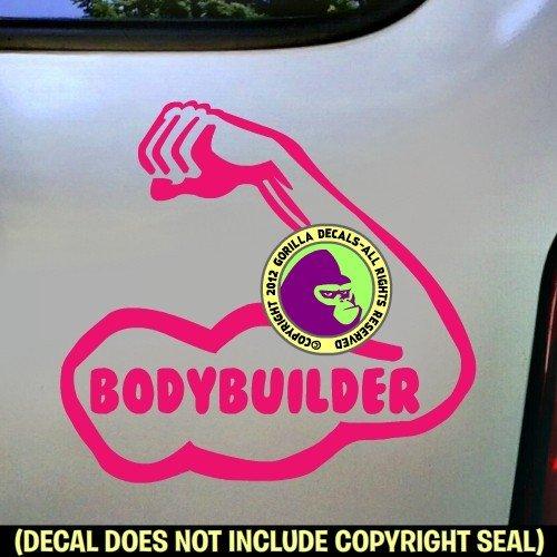 BODYBUILDER Vinyl Decal Sticker E