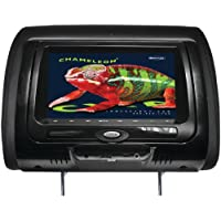 CONCEPT CLD-703 7 Chameleon Headrest Monitor with HD Input, Touch Buttons, High Audio Output & IR Transmitter(With built-in DVD player)