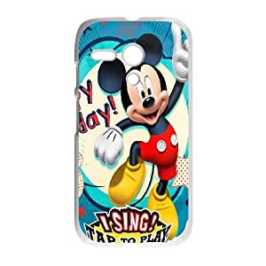 Motorola Moto G Custom Cell Phone Case Mickey Mouse Case Cover TWFF36295