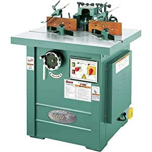 Grizzly G5912Z Z Series Professional Spindle Shaper, 5 HP