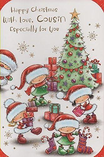 Buon Natale Cugini.Buon Natale Con Amore Cugino Soprattutto Per Voi Amazon It Cancelleria E Prodotti Per Ufficio
