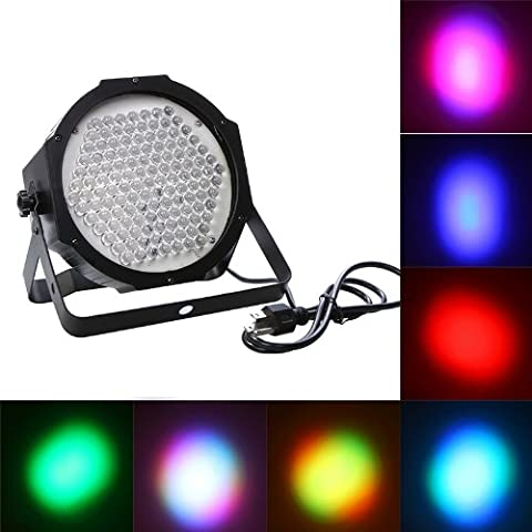Docooler 7 Channel DMX512 127 RGB LED Effect Light Stage Lighting Disco DJ Party Show AC90-240V - Stage Lighting Package