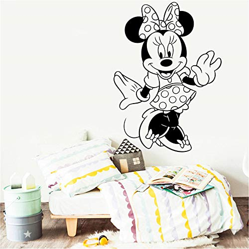 Wikaus Mickey Minnie Mouse Wall Art Decal Sticker