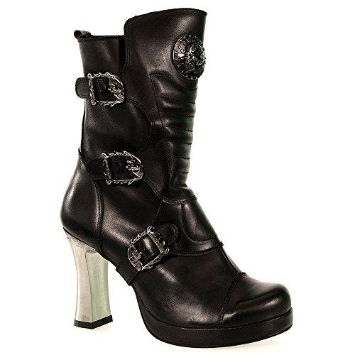 New Rock Bottes Style 5832 (Noir) -