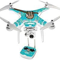 Skin For DJI Phantom 3 Professional – Slow Sloth | MightySkins Protective, Durable, and Unique Vinyl Decal wrap cover | Easy To Apply, Remove, and Change Styles | Made in the USA