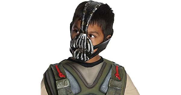 Amazon.com: Bane niño máscara disfraz accesorio: Clothing