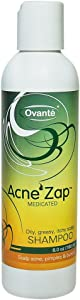 Acne Zap - Shampoo for Scalp Acne – Clear Scalp from Acne, Zits and Pimples 6.0 oz