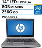 "2016 HP 14"" Elitebook 8470P Laptop PC with Intel Core i5-3320M Processor, 8GB Memory, 256GB SSD and Windows 7 Professional (Certified Refurbished)"