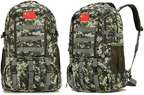 BAJIMI アウトドアハイキングキャンプ旅行60L軍の戦術的なリュックサックサイクリングバッグ/スタイル/Eのためのバックパック