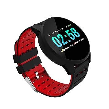 Gazechimp Smartwatch Hombre Reloj Cuenta Calorias Reloj ...