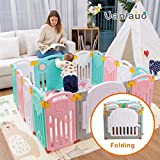 Foldable Baby Playpen Kids Activity Centre Safety Play Yard Home Indoor Outdoor New
