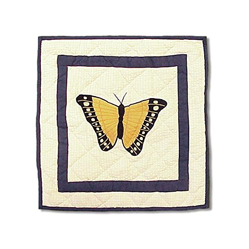 Patch Magic Butterfly Kisses Toss Pillow, 16-Inch by ()