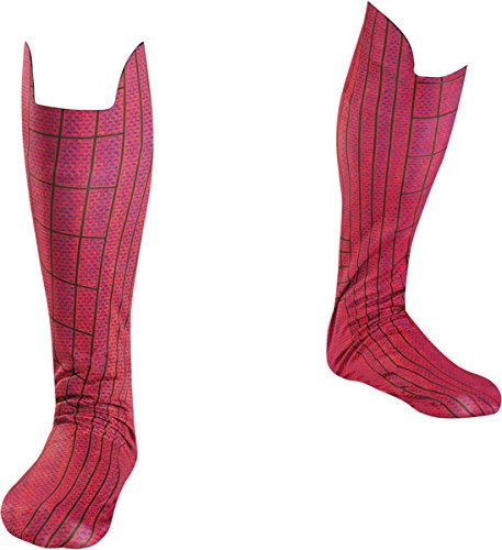 [Morris Costumes Men's SPIDER-MAN MOVIE ADULT FOOT CO, Red/Blue, 4-6] (Spiderman Costumes Ideas)
