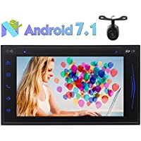 6.2 Octa-core Android Car DVD Player Android 7.1 System in Dash GPS Navigation Bluetooth Autoradio Stereo HD Digital Touchscreen Receiver 2GB RAM 32GB ROM Wifi USB/SD Phone Link + Reverse Camera