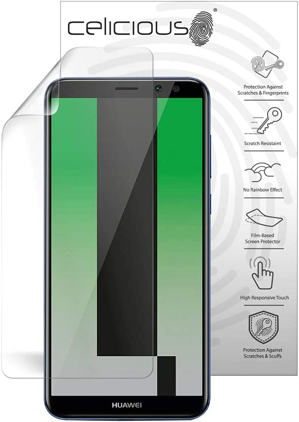 Celicious Privacy Plus 4-Way Anti-Spy Filter Screen Protector Film Compatible with Huawei Mate 20