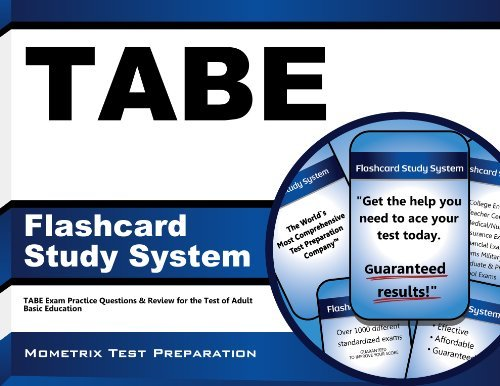 TABE Flashcard Study System: TABE Exam Practice Questions & Review for the Test of Adult Basic Education (Cards) by TABE Exam Secrets Test Prep Team (2013-02-14) Cards