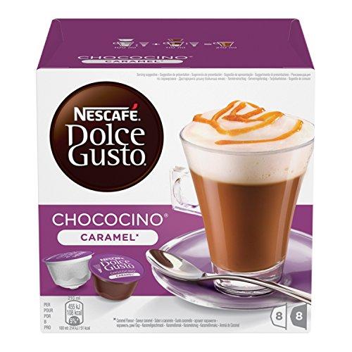 Choco Caramel - NESCAFE DOLCE GUSTO CHOCOLATE CHOCO CARAMEL PODS 8 DRINKS