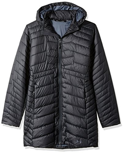 Under Armour Outerwear Under Armour Women's Cgr Parka, Black/Stealth Gray, Small