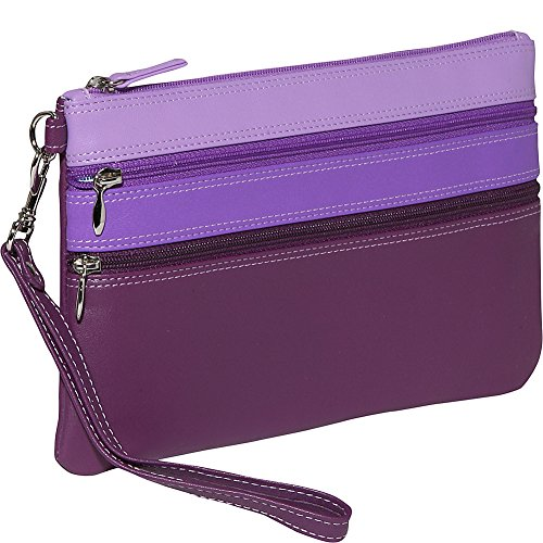 belarno-large-trizip-multi-color-clutch-in-black-rainbow-combination-purple