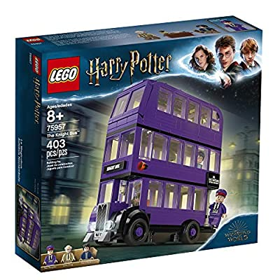 LEGO Harry Potter and The Prisoner of Azkaban Knight Bus 75957 Building Kit (403 Pieces): Toys & Games