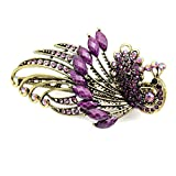 Oldlila 1Pcs Retro Peacock Hairpin Hair Accessories