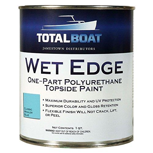 opside Paint (Classic Whaler Blue, Quart) (Easypoxy High Gloss Paint)