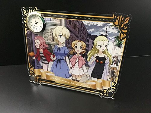 Girls & Panzer final chapter Darjeeling holiday Acryl collect watches