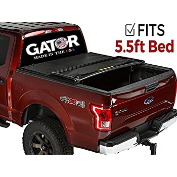 Gator Tri-Fold Tonneau Truck Bed Cover 2015-2018 Ford F150 5.5 Bed
