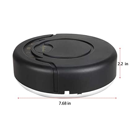 Pro Robotic Vacuums,BCDshop Rechargeable Automatic Smart Cleaner Sweeping Robot Strong Suction Floor Cleaning Machines