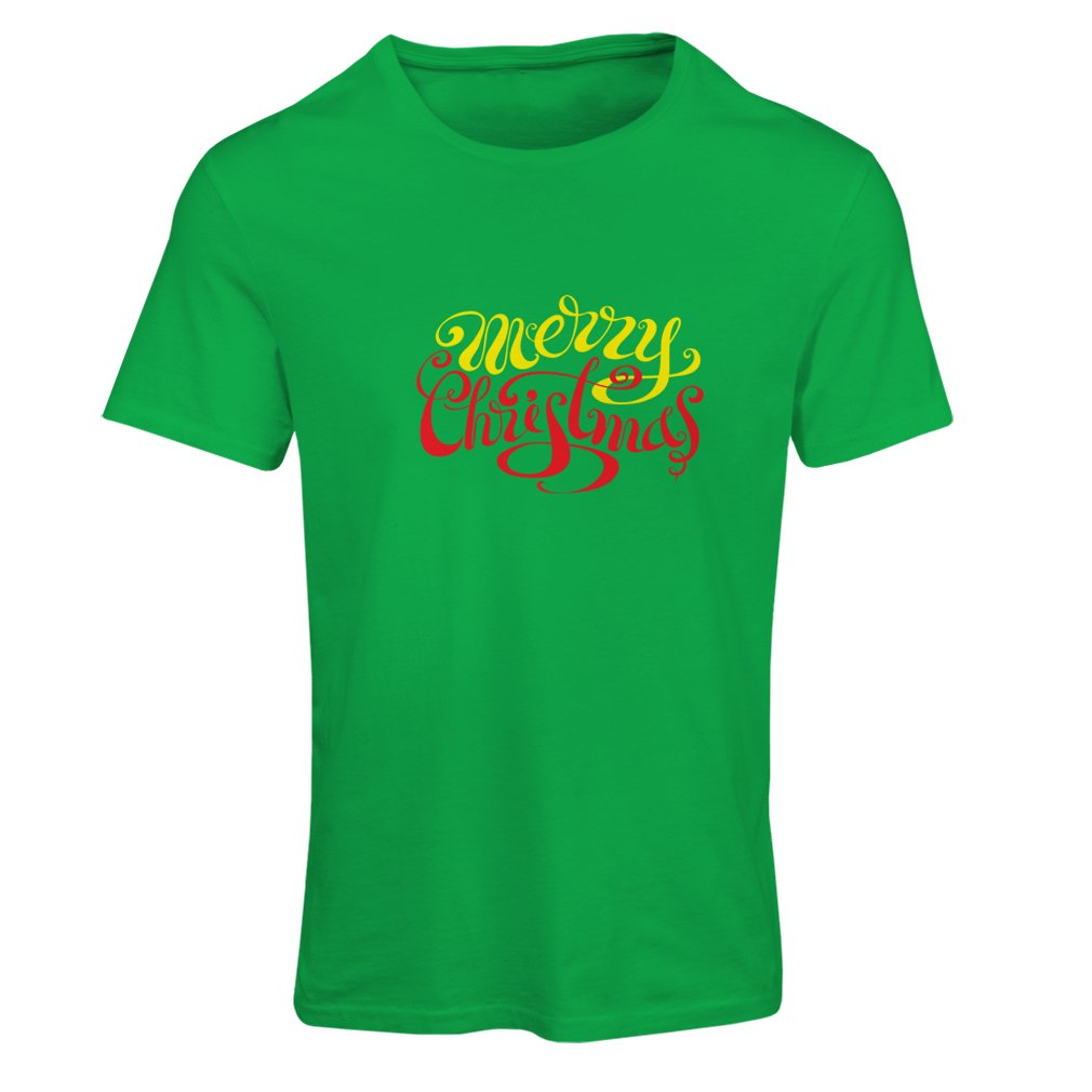 lepni.me T Shirts For Women Vintage Merry Christmas Design, Xmas Holiday Vacation Outfits (XX-Large Green Multi Color) by lepni.me