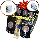 3dRose Susans Zoo Crew Animal - Giraffe head sticking out tongue - Coffee Gift Baskets - Coffee Gift Basket (cgb_294893_1)