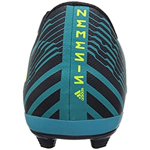 adidas Boys' Nemeziz 17.4 Fxg J Soccer Shoe, Legend Ink/Solar Yellow/Energy Blue, 2.5 Medium US Little Kid