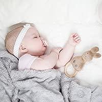 LOVI 2x Chupete Mini Silicona para Bebés de 0-2 meses | La Base Pequeña y Ligera | Cubierta Higiénica | Protege el Reflejo Natural de Succión de Bebé ...
