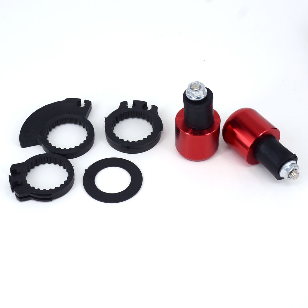 JFG Racing CNC 7//20,3/ cm Hand Grips Lenker Drehgriff Bar End Plugs Motorrad Sport Bike