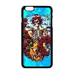 2015 Customized Painting Grateful Dead Case For iphone 6 Plus 5.5 inch black Cover Hard Popular Phone for iphone 6 Plus 5.5 inch black Case-01 by Maris's Diaryby Maris's Diary
