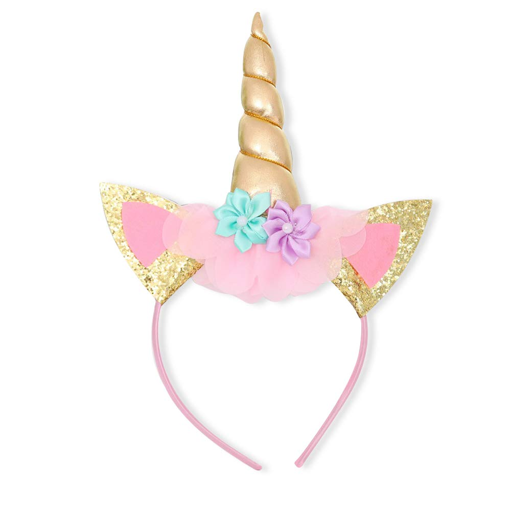 NNJXD Girls Unicorn Party Costume Flower Cosplay Wedding Halloween Fancy Princess Dress for Photo Shoot