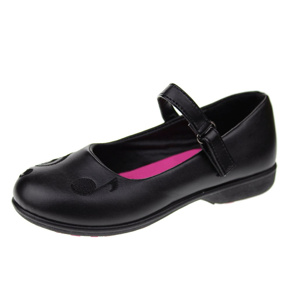 Hawkwell School Uniform Mary Jane Flat (Toddler/Little Kid) Black-2 12