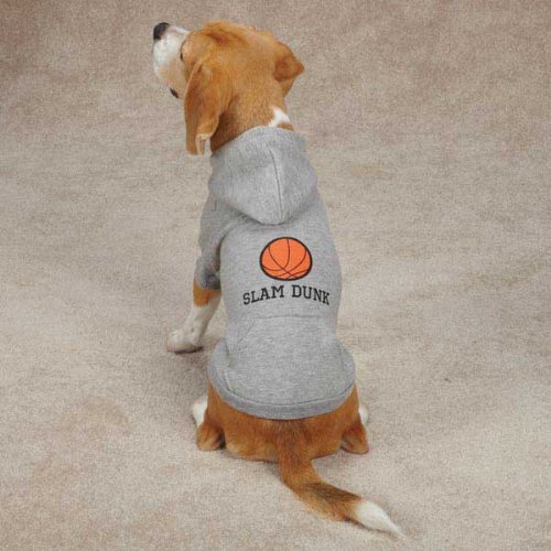 Casual Canine ZM4100 20 13 Sports Hound Hoodie for Dogs, Large, Football