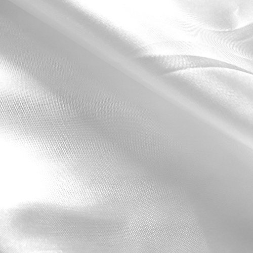 White Silk Cloth (Polyester China Silk Lining Fabric 60