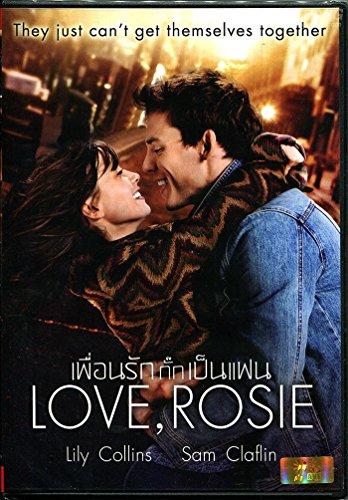 Love, Rosie (DVD, Region 3, Christian Ditter) Lily Collins, Sam Claflin, Christian Cooke
