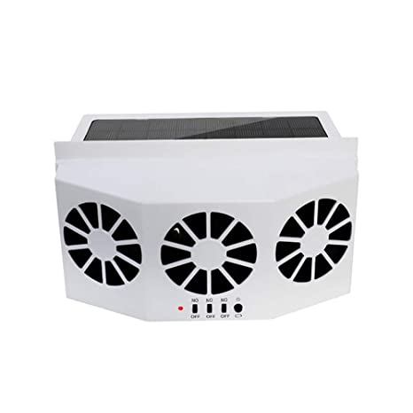 Amazon com: Took09 Car Ventilator 3 Cooler Fans Solar
